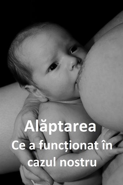 Cât ești gravidă ți se pare că alăptatul este cel mai ușor și natural lucru pe care îl poți face. La toate cursurile, în toate cărțile ți se explică cum bebelușii știu să sugă din instinct... îți mai explică și cum trebuie să îl pui la sân, poziții de alăptat, cum să treci peste posibile probleme, dar până nu ajungi să ai bebelușul în brațe nu știi ce te așteaptă.