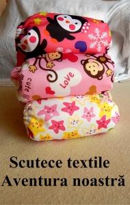 Astăzi vreau să vă povestesc despre aventura noastră cu scutecele textile.